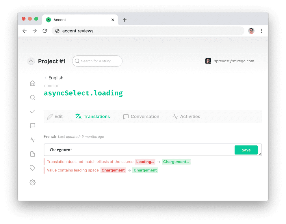 Linting webapp preview